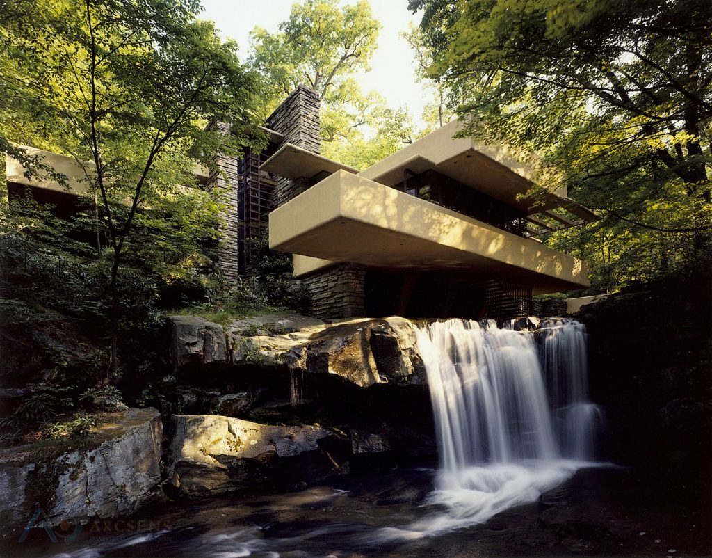 ARCSENS Falling Water House 2