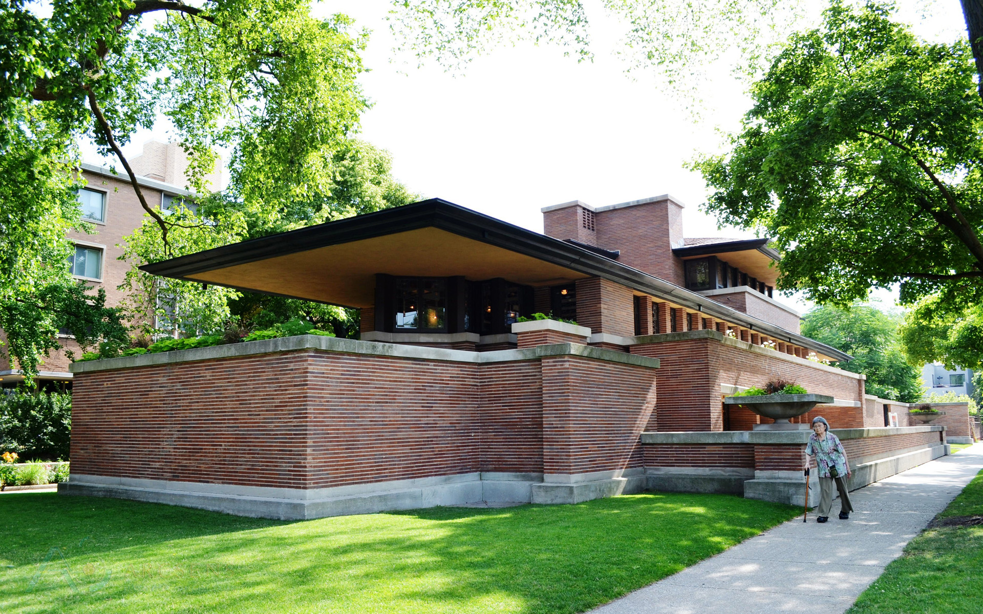 7 weaknesses in Works of architects famed AMERICA – FRANK LLOYD WRIGHT