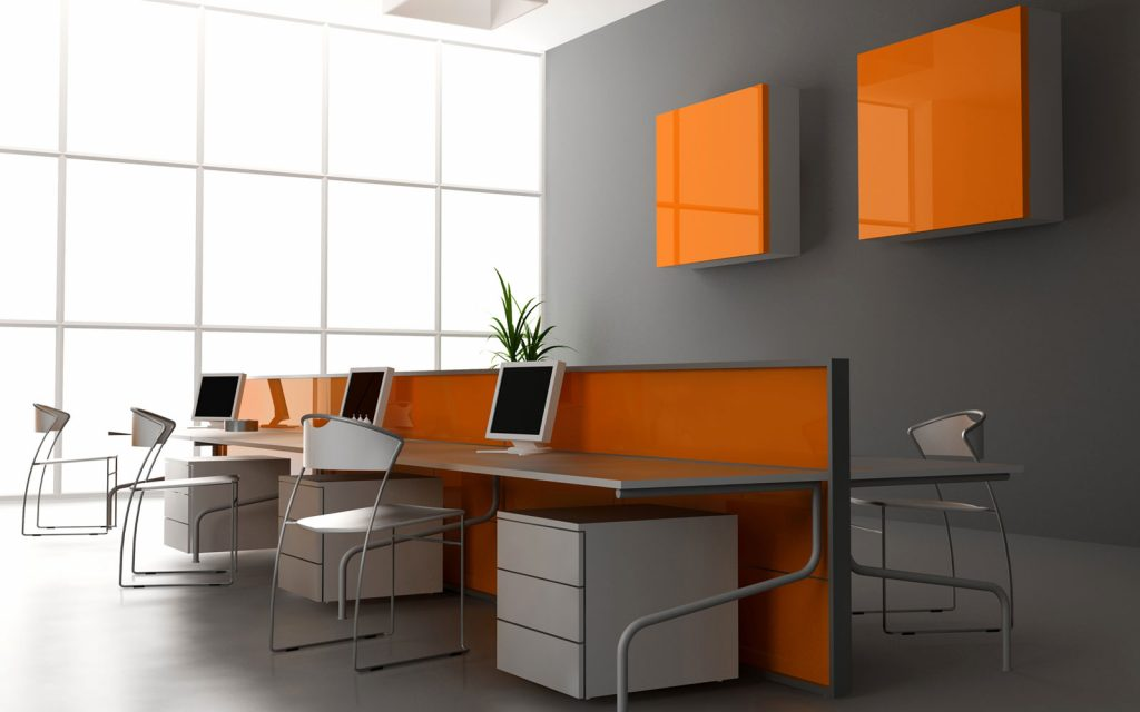 ArcSens orange interior design
