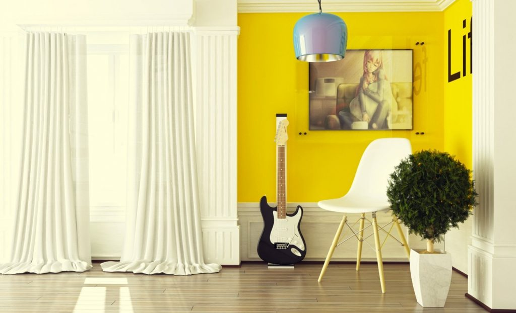 ArcSens yellow interior design