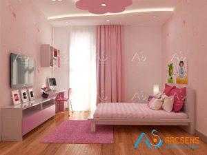 phòng ngủ con gái v2